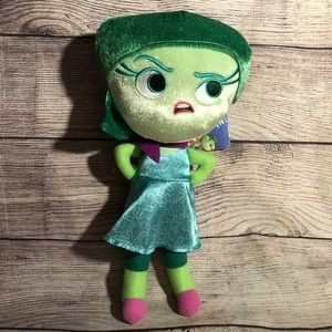 Disney Inside Out Disgust Zippered Figure 12 Inch